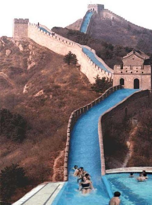 the Great Slide of China