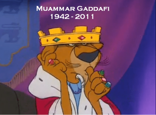 RIP Muammar Gaddafi #Gaddafi