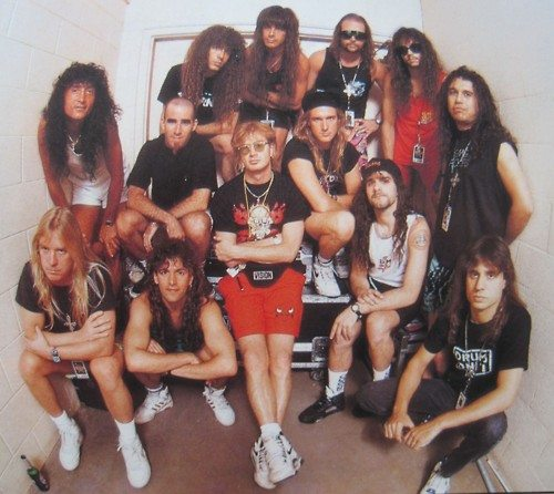 Slayer Anthrax Megadeth