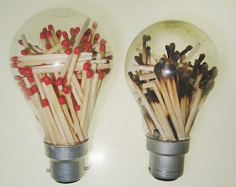 Bright ideas burnt ideas