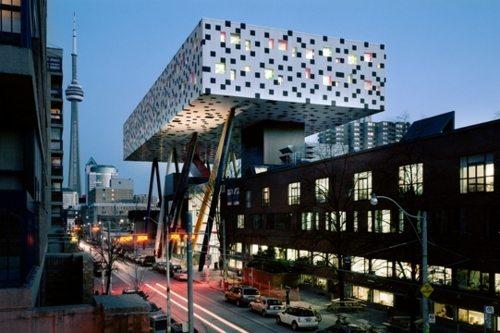 OCAD building in Toronto