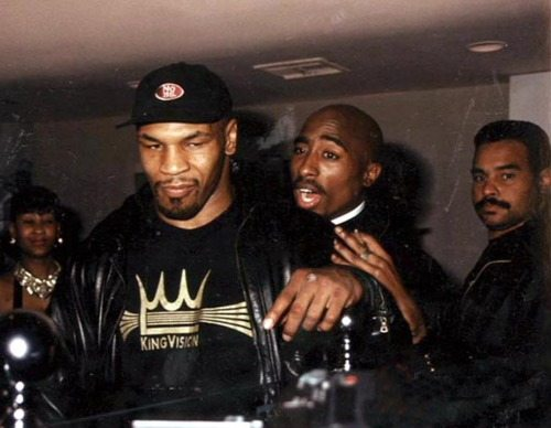 Tupac Shakur and Iron Mike