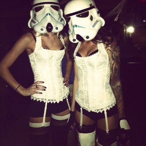 female storm troopers