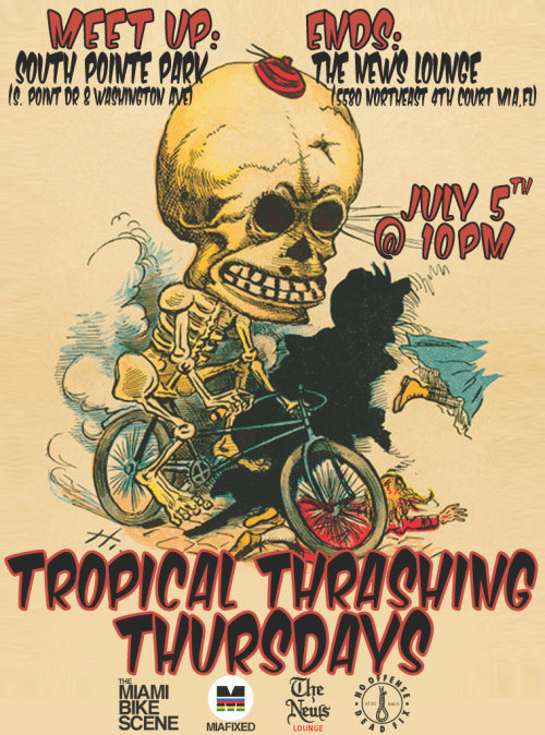 Tropical Trashing Thursdays!!!!