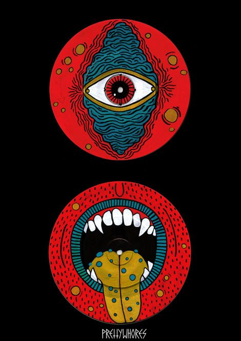 mutant eye / mutant mouth