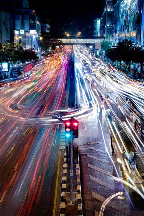 """Bangkok Traffic"" by mark burban"