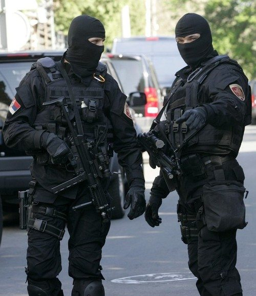 Serbia's special police unit