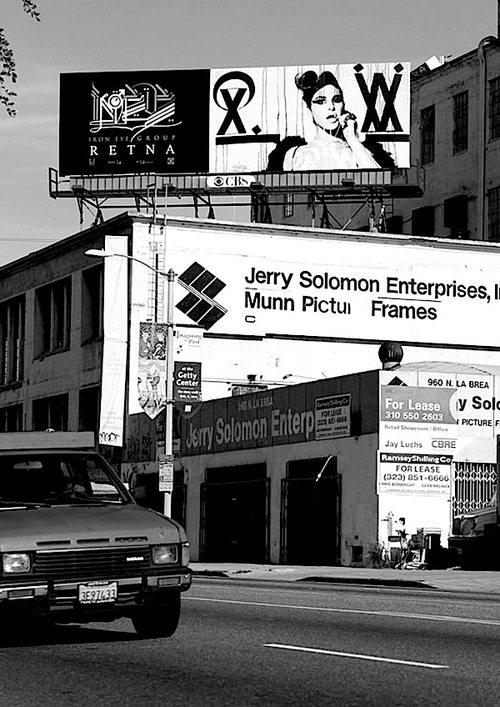 Retna Billboard Art Display