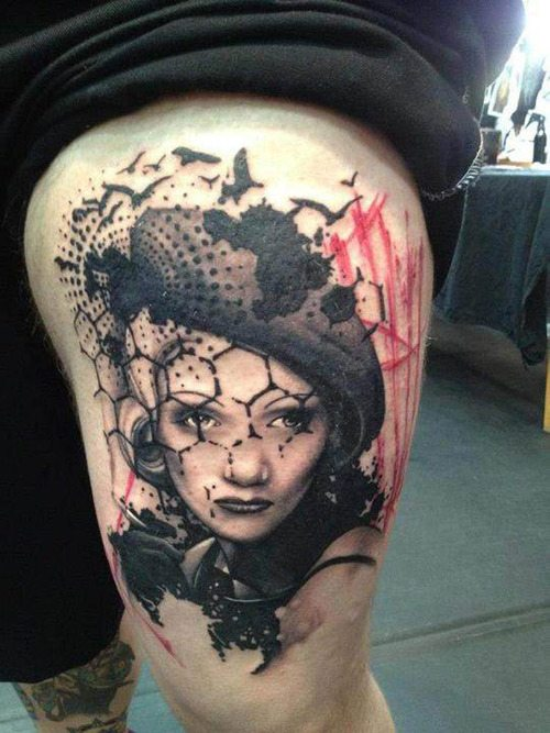 Tattoo done by Jacob Pedersen