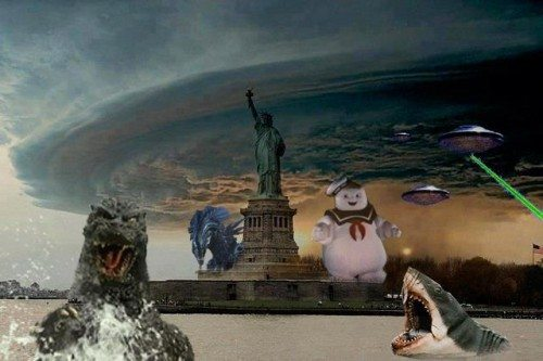 NYC vs #Sandy and the world