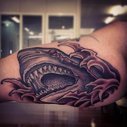 Tattoo done by Heath Crowe