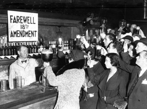 December 5, 1933 - Prohibition ends