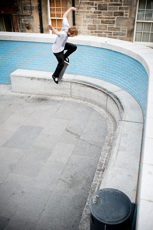 Jimmy McDonald, Frontside Bluntslide to Fakie