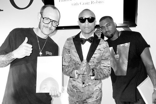 Terry, Pharrell and Kanye