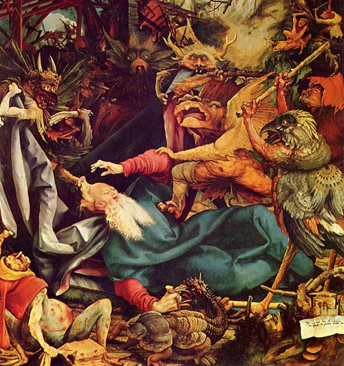 Matthias Grünewald -  The Temptation of St. Anthony (1512–16)