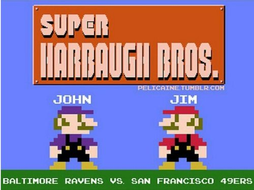 Super Harbaugh Bros.