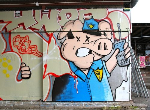 Copenhagen graffiti. Photo by Henrik Haven