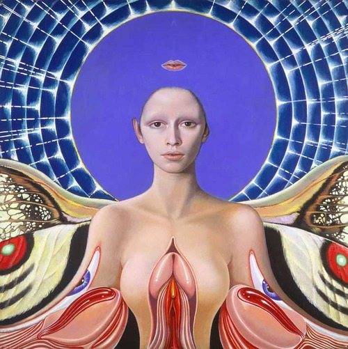 Bavarian Angel by Mati Klarwein