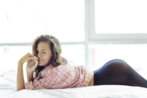 Chrissy Teigen photographed by Michael Edwards