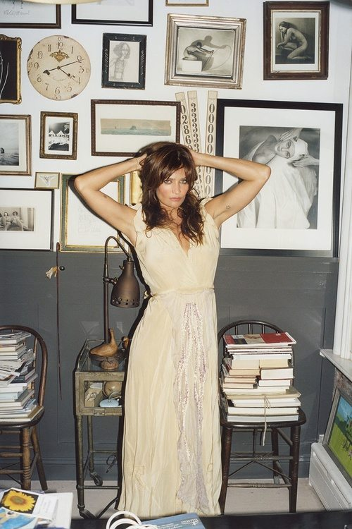 Helena Christensen x Futureclaw Magazine.