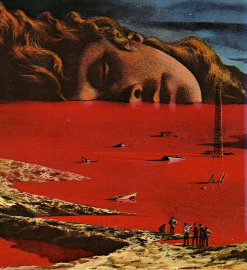 Karel Thole - The general zapped an angel, 1970