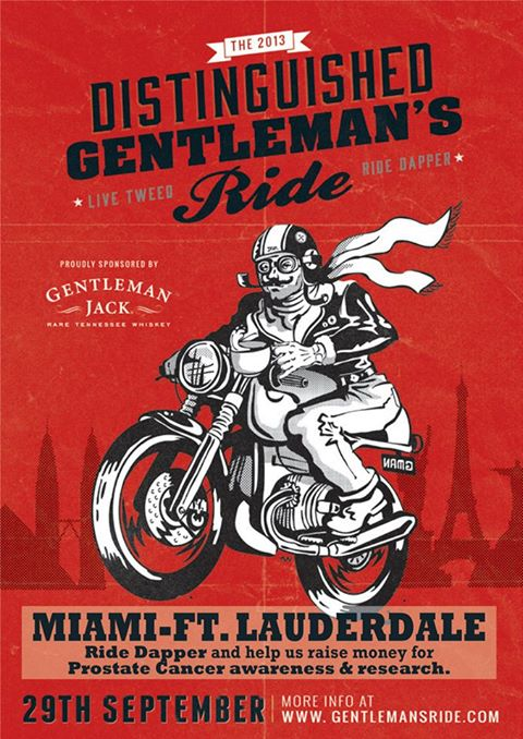 Miami - Distinguished Gentleman's Ride