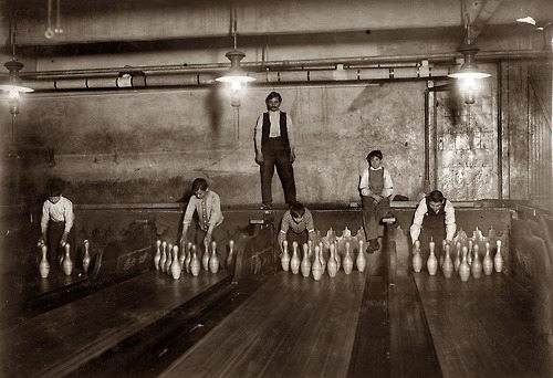 Going Bowling, Brooklyn, NY 1910