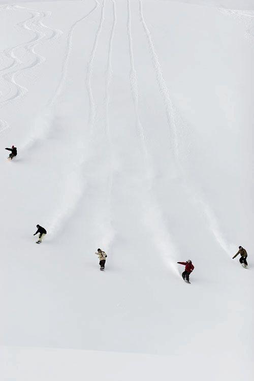 snowbaording