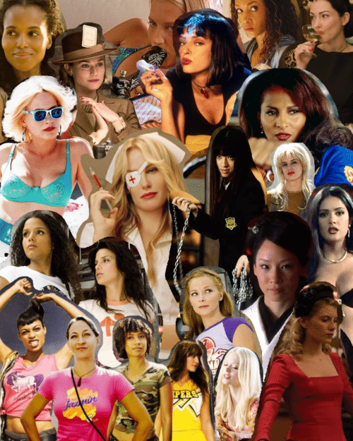 the ladies of Tarantino's films