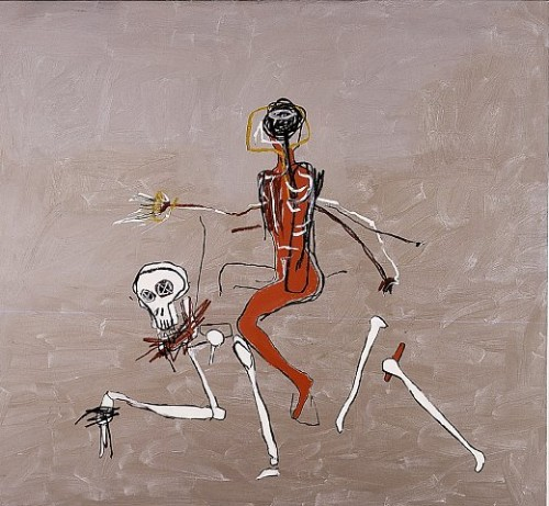 Riding With Death, 1988 - Jean-Michel Basquiat