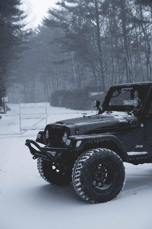 Cold Jeep