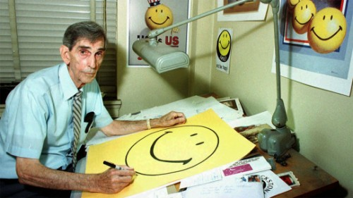 Harvey Ball- creator of The Smiley Face